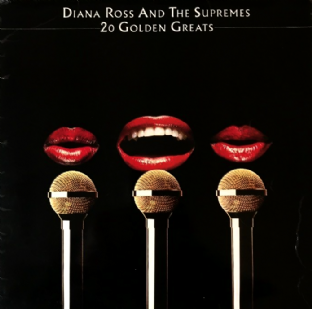 Diana Ross & The Supremes ‎- 20 Golden Greats (LP) (G-VG/G+)